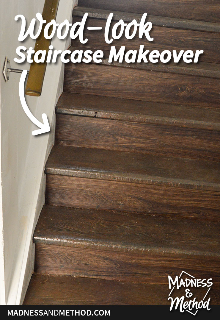 staircase makeover graphic