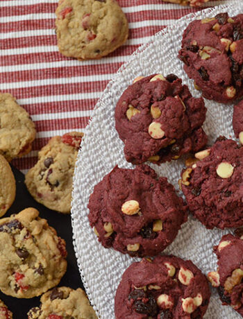 valentines scoop cookies