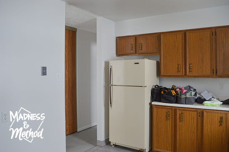 kitchen at move-in