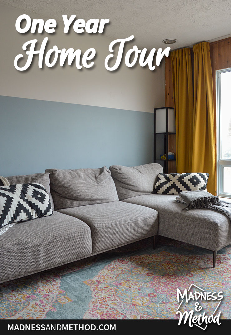 one year home tour