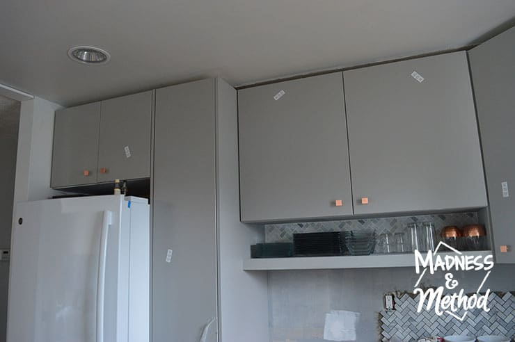 cabinets without crown moulding