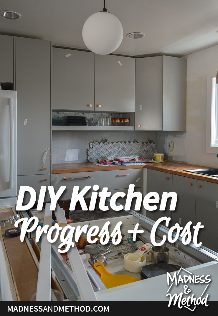 diy kitchen renovation and costs