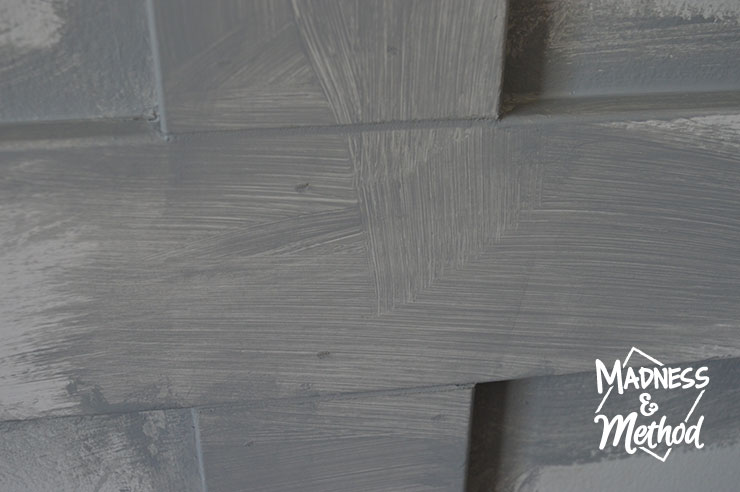 painted wainscoting joints