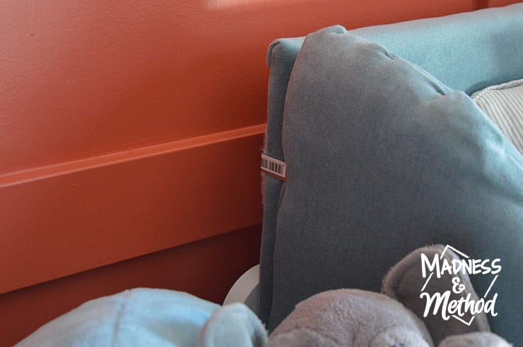 attaching headboard together