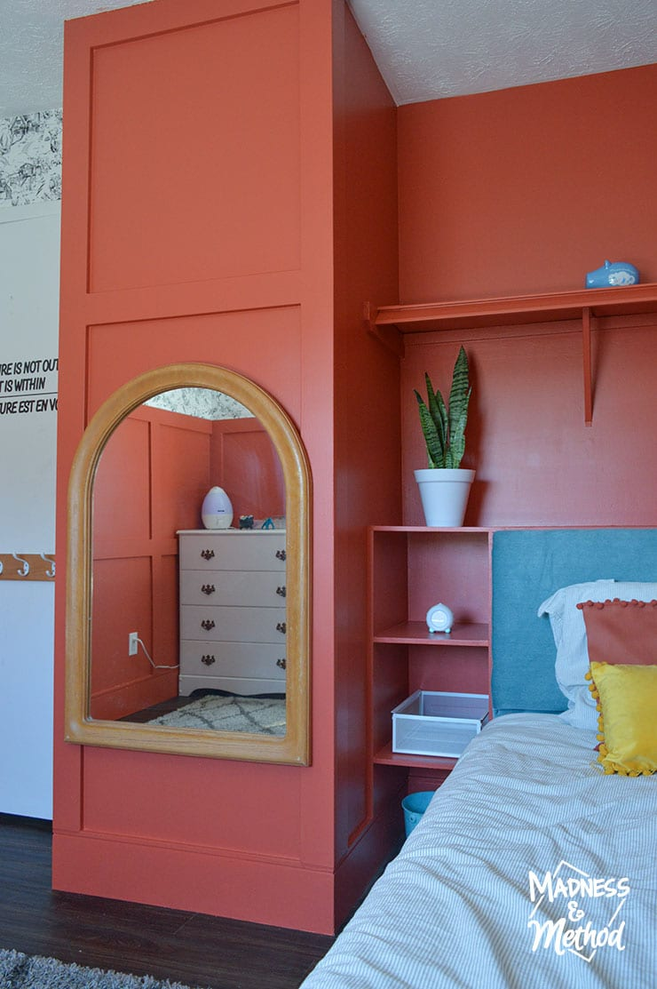 bed in cubby