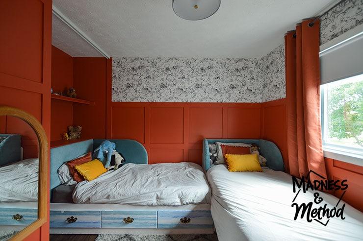 corner beds in kids bedroom