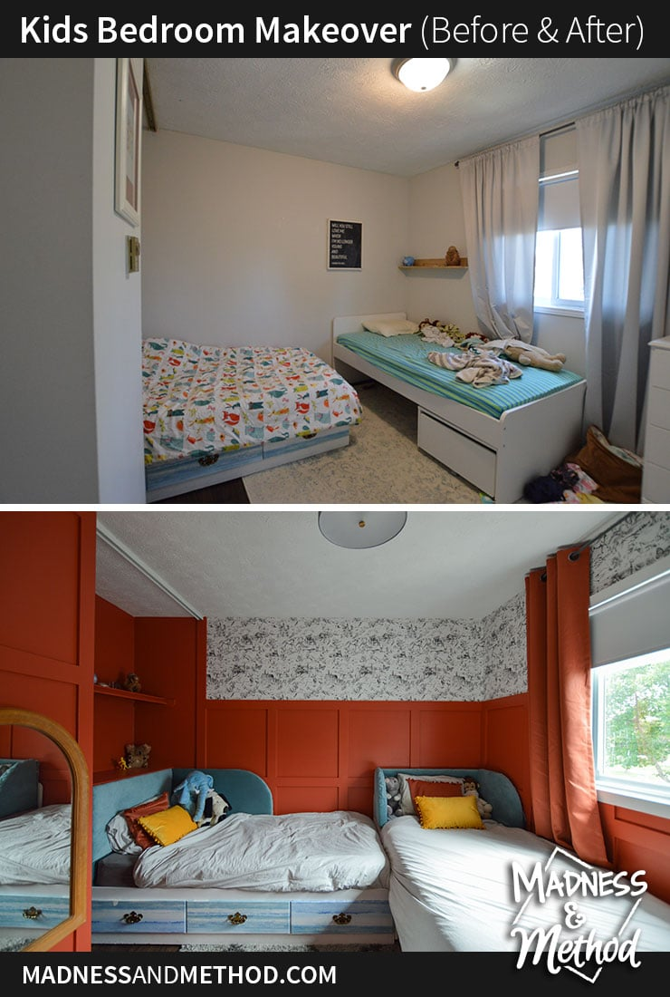 bedroom before after