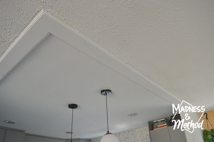 trim to cover old walls